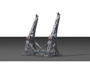 Building Blocks Efferman's Vertical Stand for Millennium Falcon 75192 US SELLER