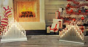 33-LED-Luce-Tubo-candlebridge-CANDELA-BRIDGE-ARCH-FINESTRA-Decorazione-di-Natale