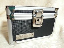 Index Card Box Holder Vaultz Locking Boxes Case Security Organizer Storage Black