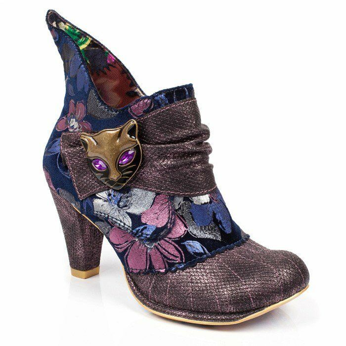 Irregular choice méchant purple pussycat boots