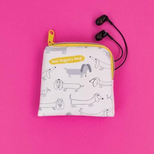 Hot Diggety Chien Sac à main//pochette 11 Cm Cadeau Nouveau