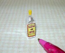 "3//4/"" Tall 1//12 Scale Miniature Single Liquor Bottle For the DOLLHOUSE Bar #16"