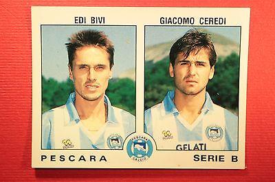Panini Calciatori 1991//92 N 506 PESCARA BIVI CEREDI OTTIMA