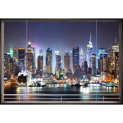 Vlies Fototapete New York Wandtapete Tapete Wandbilder XXL Dekoration Runa 9026b