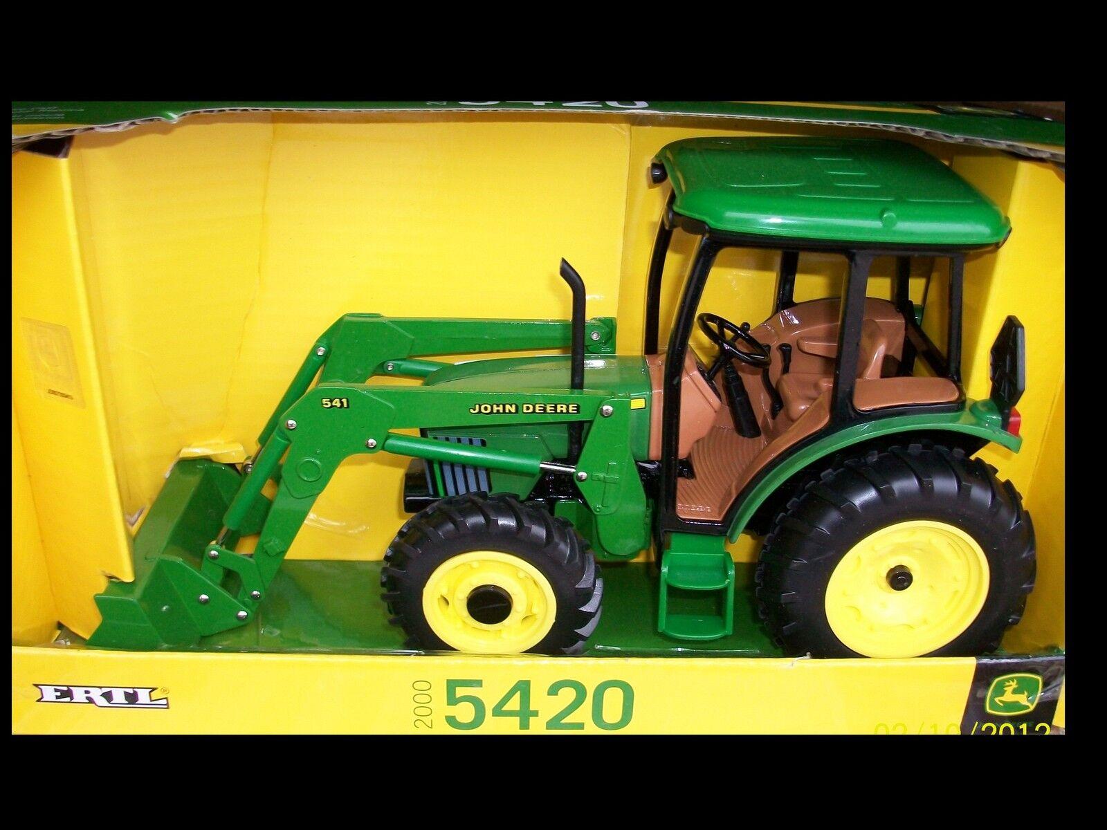 sconto prezzo basso 2000 John John John Deere 5420 tractor with loader 1 16 Ertl 15357  shopping online e negozio di moda