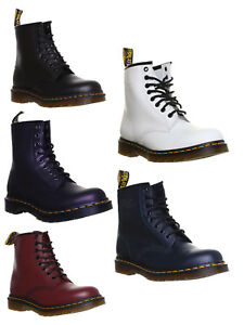 moda znana marka sekcja specjalna Details about Dr Martens 1460 Womens Leather Ankle Lace Up Boots UK Size 3  - 8