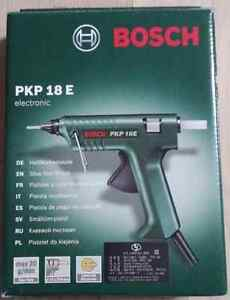 bosch pkp 18 e glue gun pkp18e ebay. Black Bedroom Furniture Sets. Home Design Ideas
