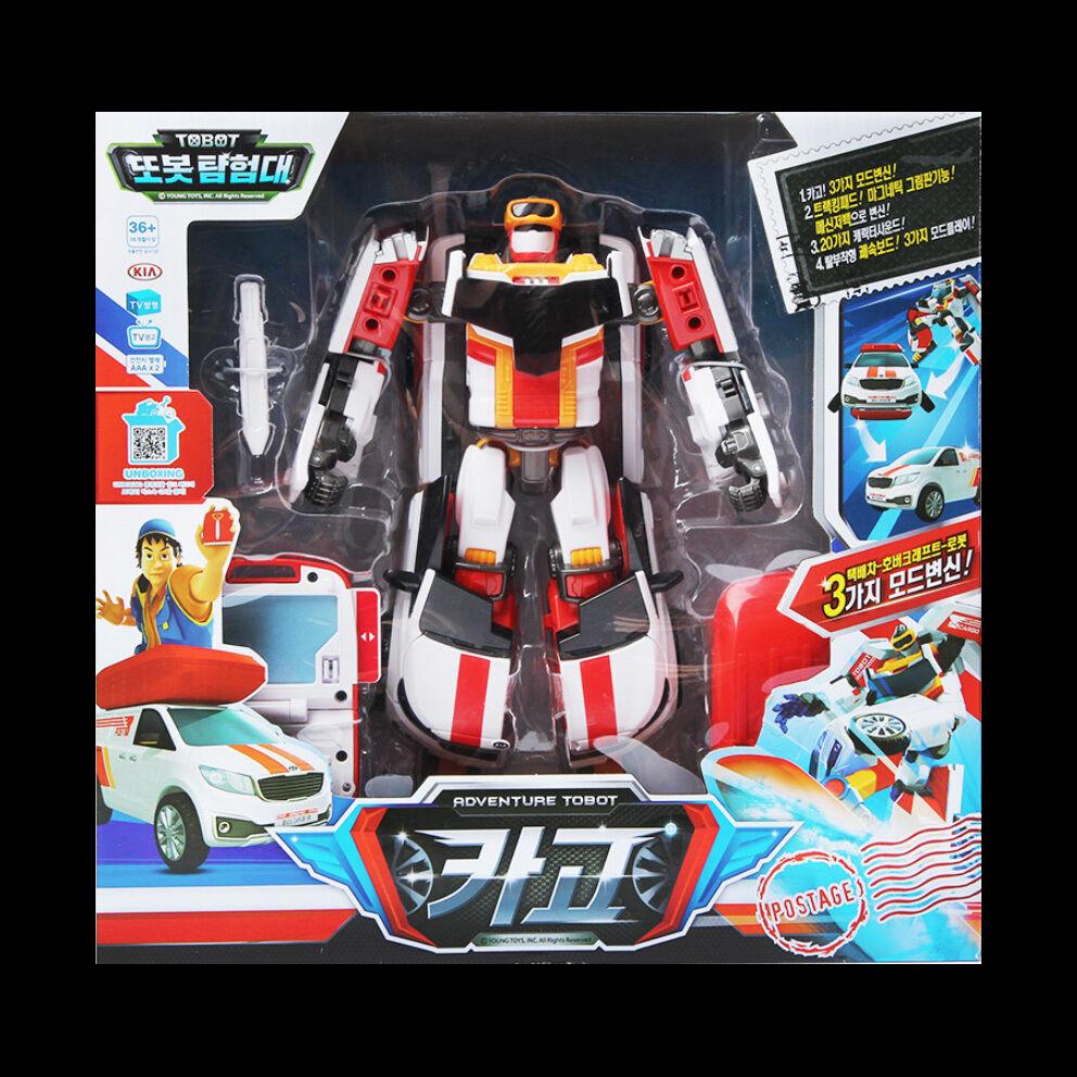 TOBOT CARGO ADVENTURE Transformer Robot Car Toy Surfboard Kia Sedona Young Toys