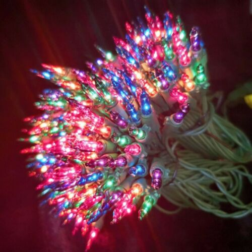 Christmas Decor New 100 LED Small Christmas Tree Lights Spacing Light String