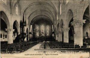 CPA St-JEAN-d'ANGÉLY - Église Paroissiale (104537)