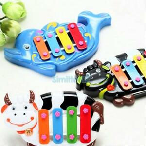 New-Musical-Educational-Animal-Developmental-Music-Bell-Toy-4-Tone-for-Kids-Baby