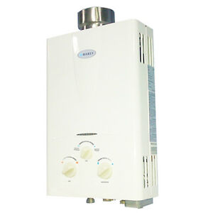 Marey 2 0 gpm liquid propane gas tankless hot water heater for 1 bathroom tankless water heater