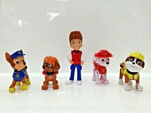 Paw-Patrol-10cm-Action-Figures-Pack-Rescue-Team-Pack-of-5-Figures-Playset