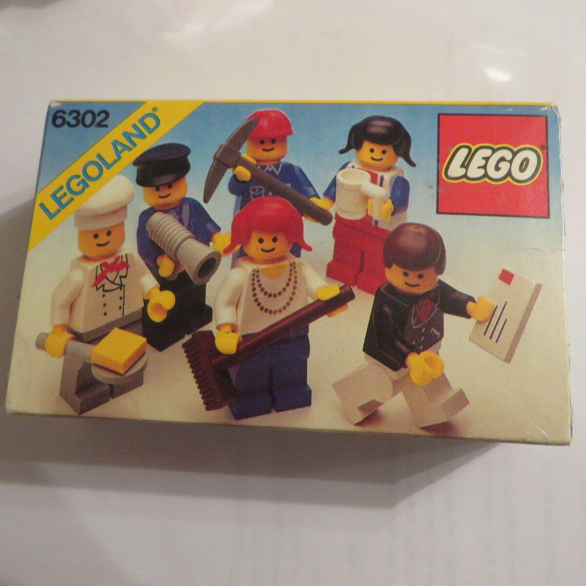 Lego® 6302 Legoland Classic Town 1982 Selten Rarität   Neu und OVP