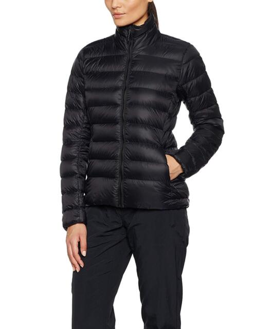 Adidas Women's Light Weight Down Jacket Ladies Winter Coat AY1476 Black