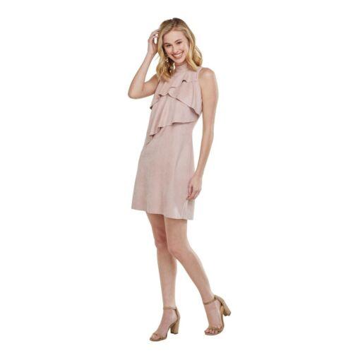 Mud Pie H9 Women Carley Suede Dress Dustyrose 85000044DR Choose