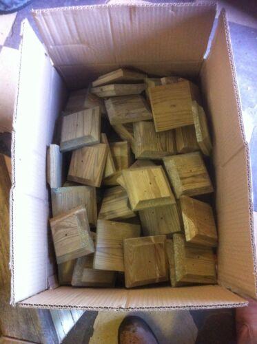 """bois traité Epi de faitage base pour 3/"""" poteaux de clôture planchers"""