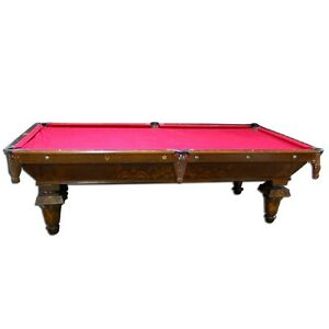 Antique Brunswick New Acme Pool Table EBay - Carom pool table