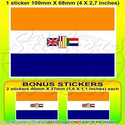 100/mm Belgique Belge Drapeau 10,2/cm Bumper Sticker en vinyle en x1/+ 2/Bonus