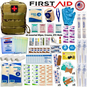 Tactical Trauma Kit First Aid Military MOLLE Pouch Outdoor Medical Survival Kit