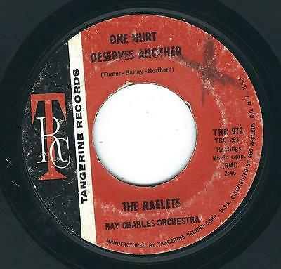 Northern Soul The Raelets TANGERINE 972 One room paradise / One hurt deserves ♫