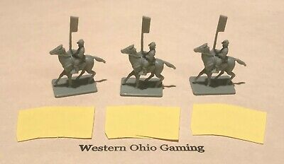 Battle Cry Board Game 3 x Confederate Artillery USED 150th Anniversary