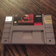 Mortal Kombat Cart Only Super Nintendo Snes  Fast To Ship Tested & Works G2
