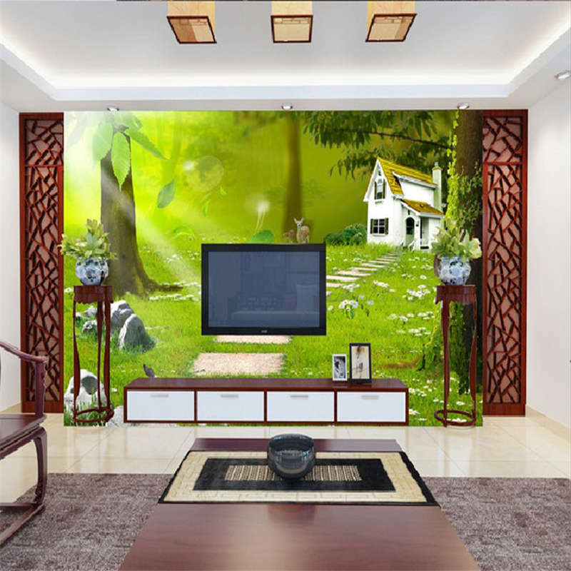 Quiet And Nice Path 3D Full Wall Mural Photo Wallpaper Printing Home Kids Decor