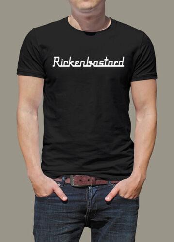 XXXL  Siebdruck T-Shirt Rickenbastard S Gr Rickenbacker wie Lemmys Bass