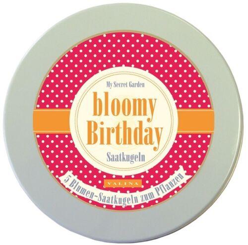 Fleurs-saatkugeln pour son anniversaire-Bloomy Anniversaire-Cadeau D/'anniversaire