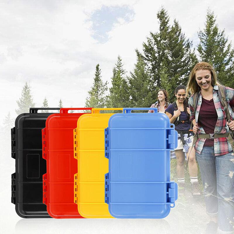 Outdoor Plastic Waterproof Airtight Survival Case Container Storage Carry BoNIU