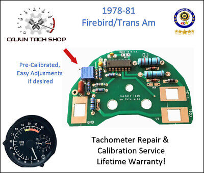 GM//Chevy Trucks Tachometer REPAIR /& CALIBRATION SERVICE C2500 C30 K30 C10