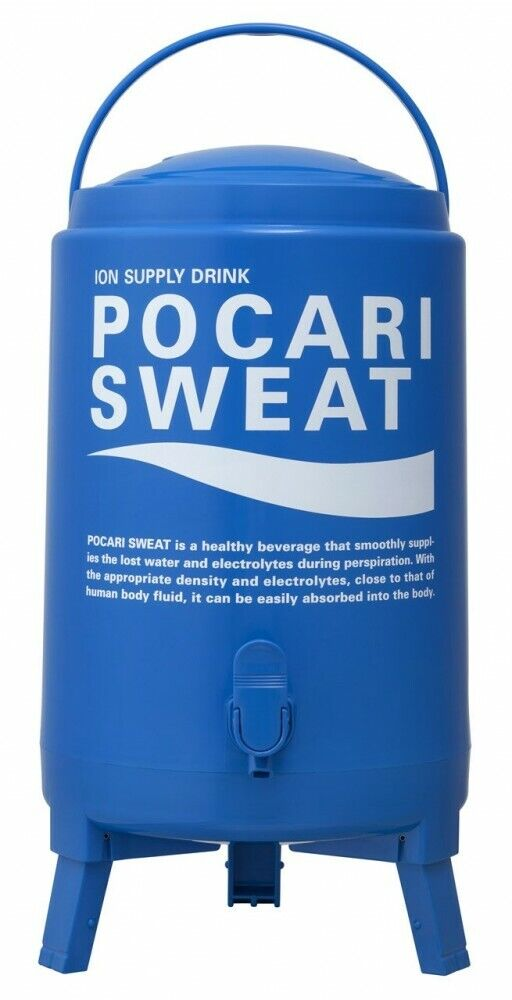 Poautoi Sweat Drink Cooler Jug Tank scatola 13L fatto In Japan Fast Shipping