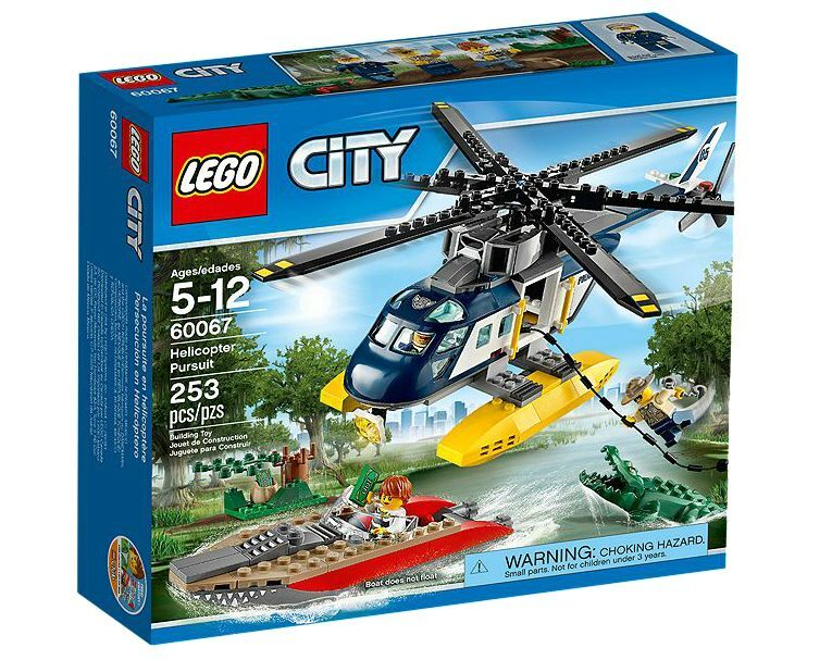 LEGO ® City 60067 Helicopter PURSUIT NUOVO OVP NEW MISB NRFB