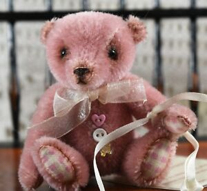 And Great Variety Of Designs And Colors Full Range Of Specifications And Sizes Very Cute Ooak Butterfly Bears By Louisa Shaw 'patience' Mini Mohair Artist Bear Famous For High Quality Raw Materials