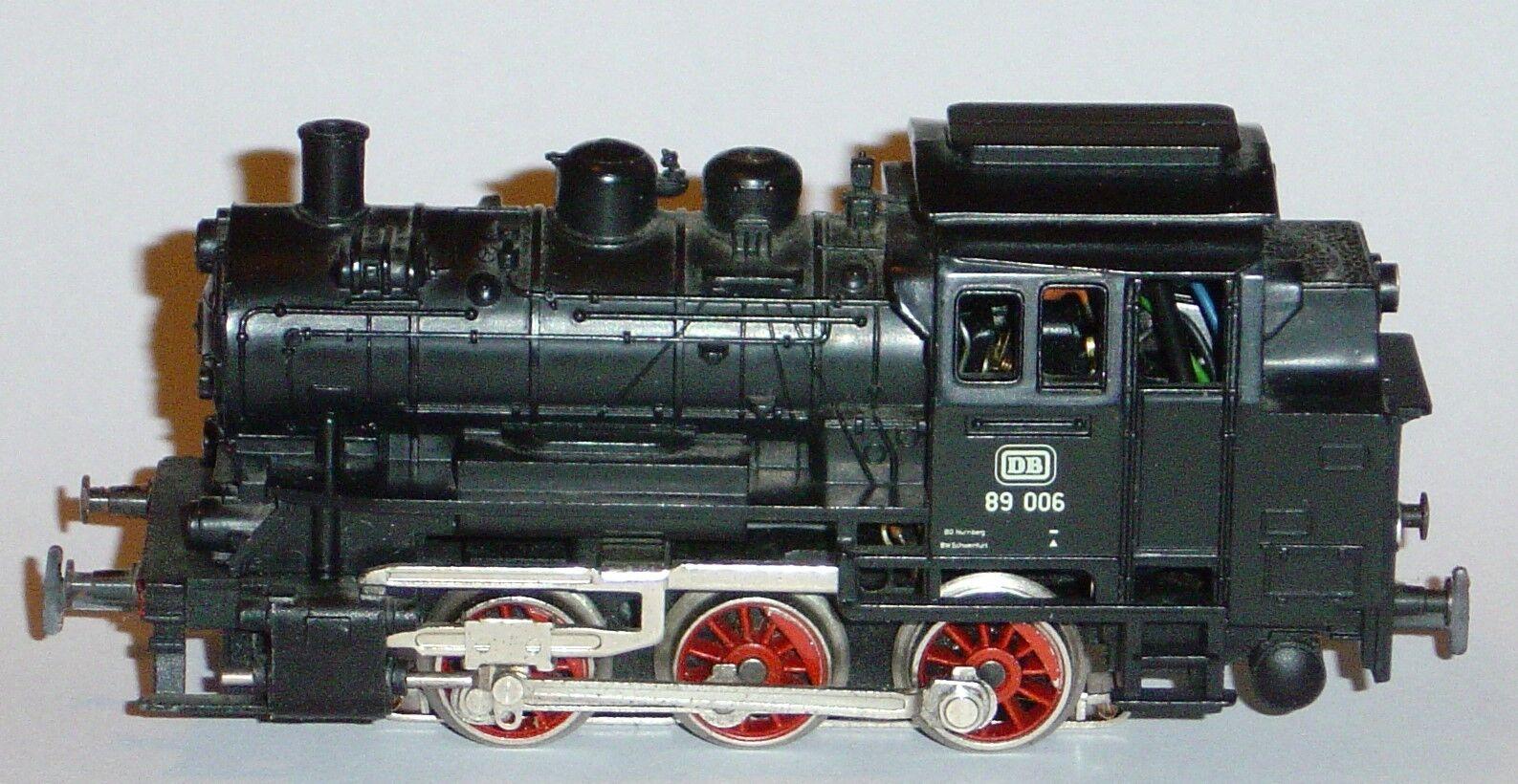 Marklin ho, steam locomotive Digital ref.3000 89006 (2),  decoder to choose
