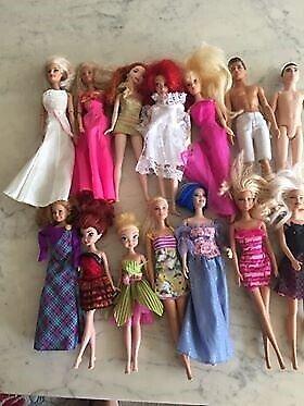 Barbie, Barbie dukker