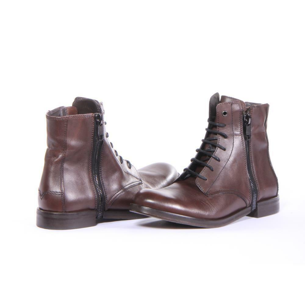 Diesel Shoes D-Zipphim Boot Boots Uomo Brown New
