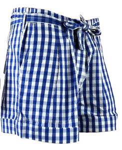 Hose Kurzhose 42 Bermuda Kurze Kariert Damen Short Hotpants Zu Karo Details Benetton Shorts beWYHIED29