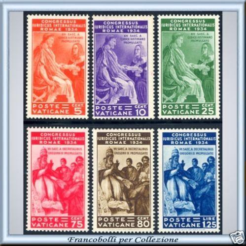 1935 Vaticano Congr. Giuridico N. 41/49 Cert. Proposta
