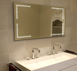 led illuminated bathroom mirror heated mirror 420