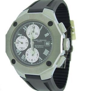 ffd6438ae88b Baume   Mercier Riviera Hombre Cronógrafo Fecha Reloj 100 M Wr ...