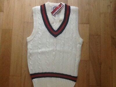 Gray-Nicolls Velocity Slipover Kids Sleeveless Cricket Sweater