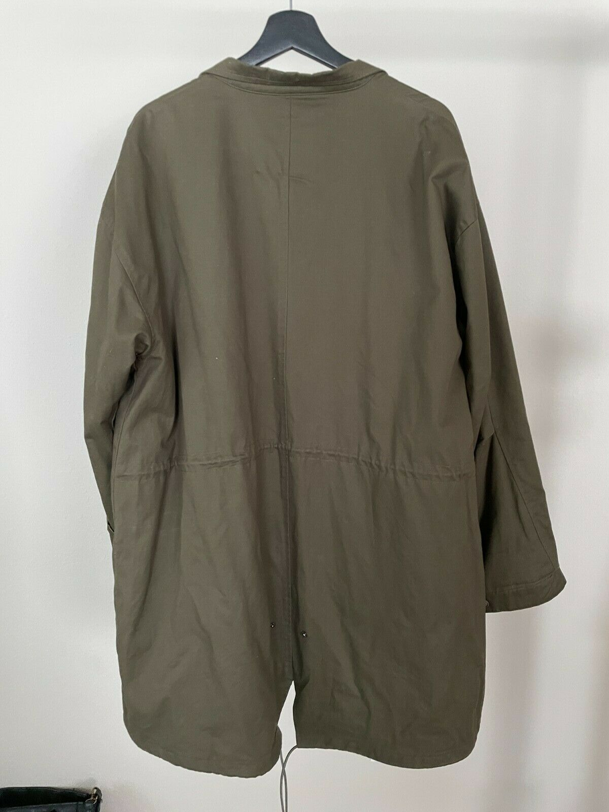 Native Youth Trench Coat Parka, Olive Green, Size… - image 2