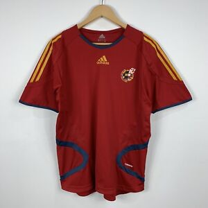 Adidas-Spanish-Football-Federation-Soccer-Jersey-Size-Medium-2005