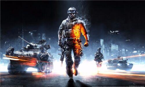"Battlefield 2 3 4 War Military Game Wall Poster 40/""x24/""  B012"