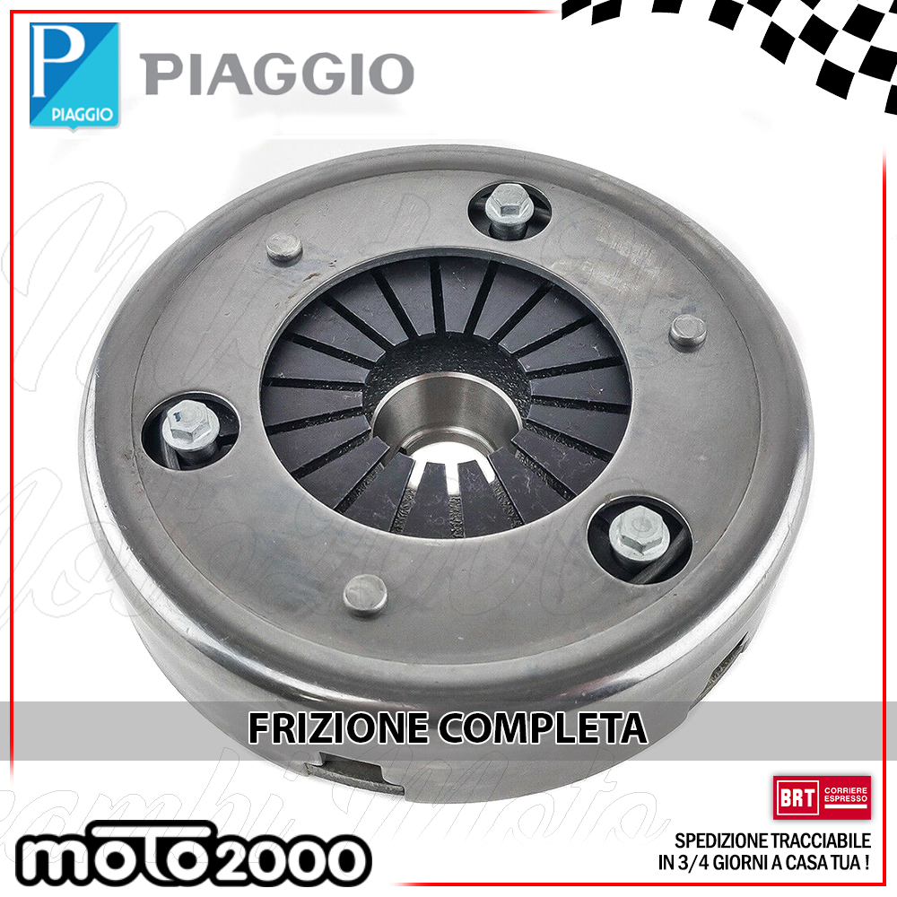 2212475 FRIZIONE COMPLETA PIAGGIO APE TM 703