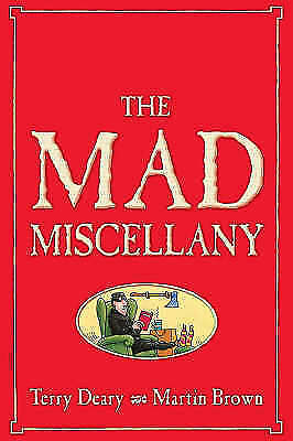 """AS NEW"" Deary, Terry, The Mad Miscellany (Horrible Histories) Book"