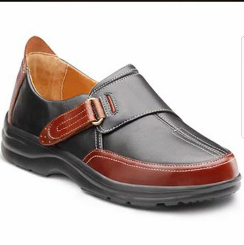 DR.COMFORT KRISTINE THERAPEUTIC DIABETIC EXTRA DEPTH DRESS SHOES SIZE 38W/ 8W