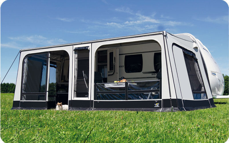 Wigo Rolli Plus Ambiente 250 Gr. 05 Markisenvorzelt Vorzelt Wohnwagen Camping